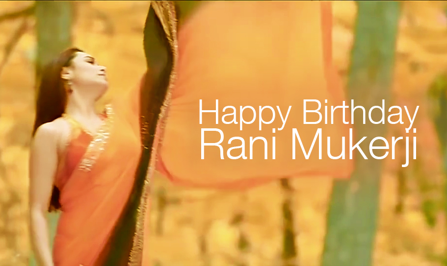 Fall in love with Rani Mukerji… all over again!