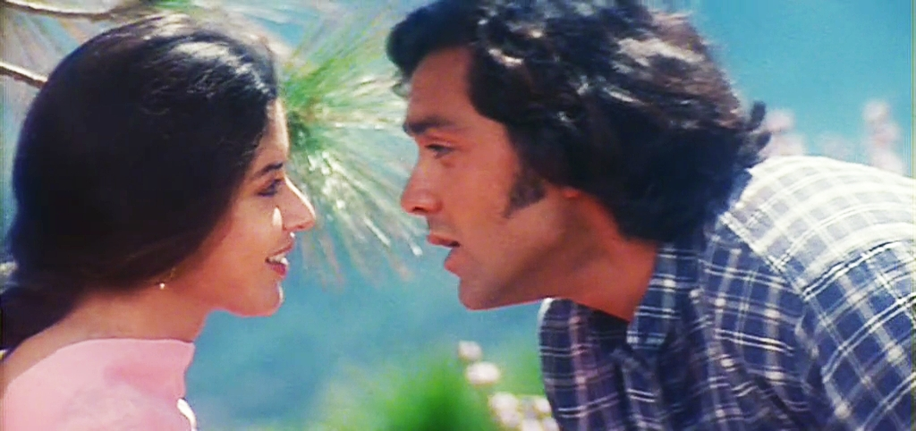 Neha and Bobby Deol