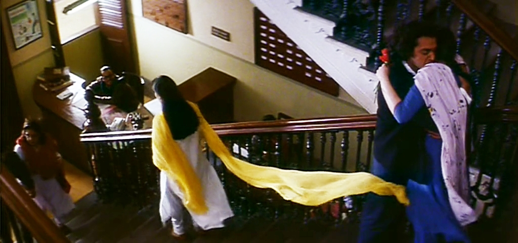 Yellow Dupatta in Kareeb