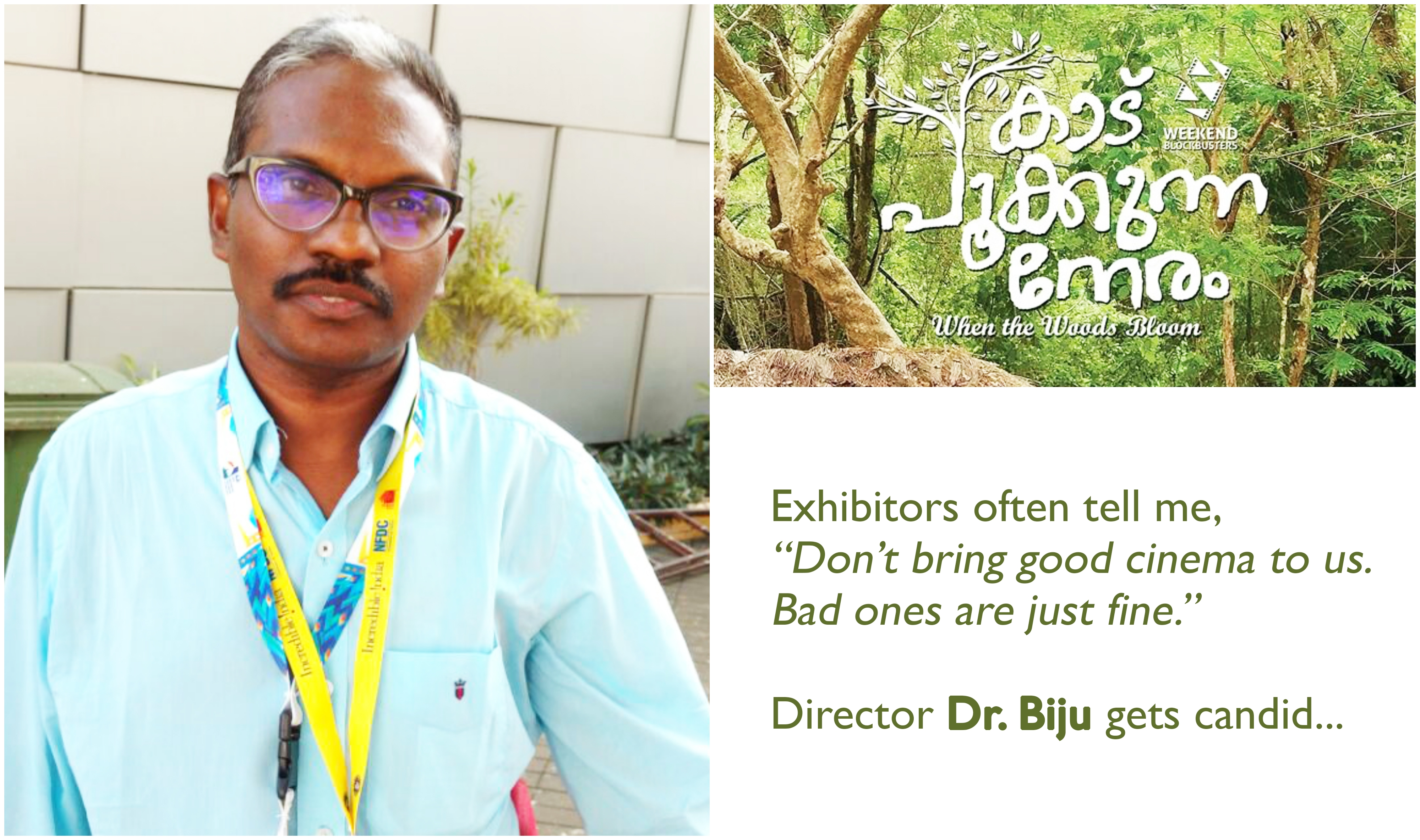 """100-crore films should not evaluate Keralites and their taste for cinema!"" – Dr. Biju 
