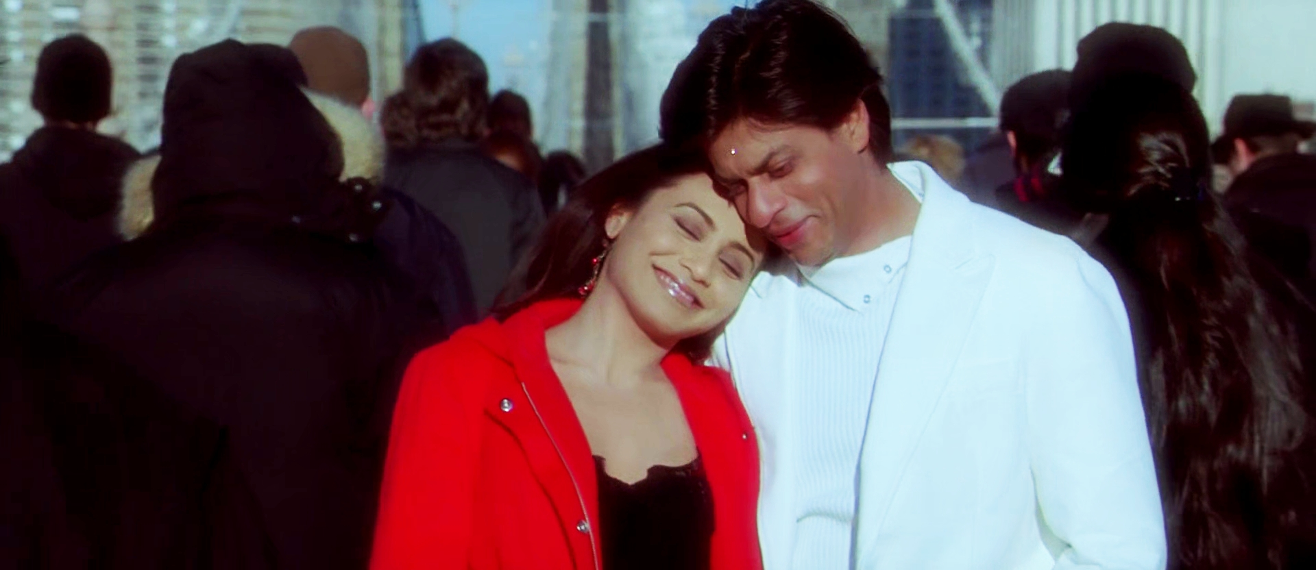 SRK and Rani in KANK