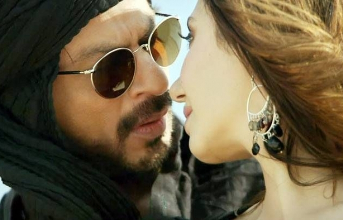 SRK Mahira in Raees