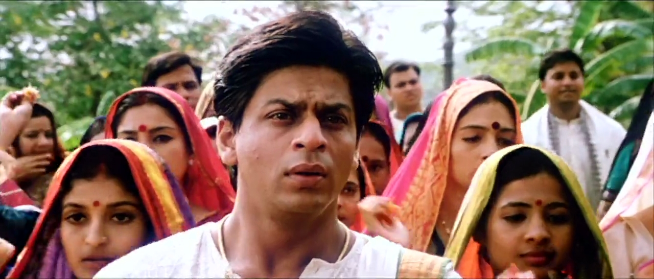 Devdas at Paro's Wedding SRK