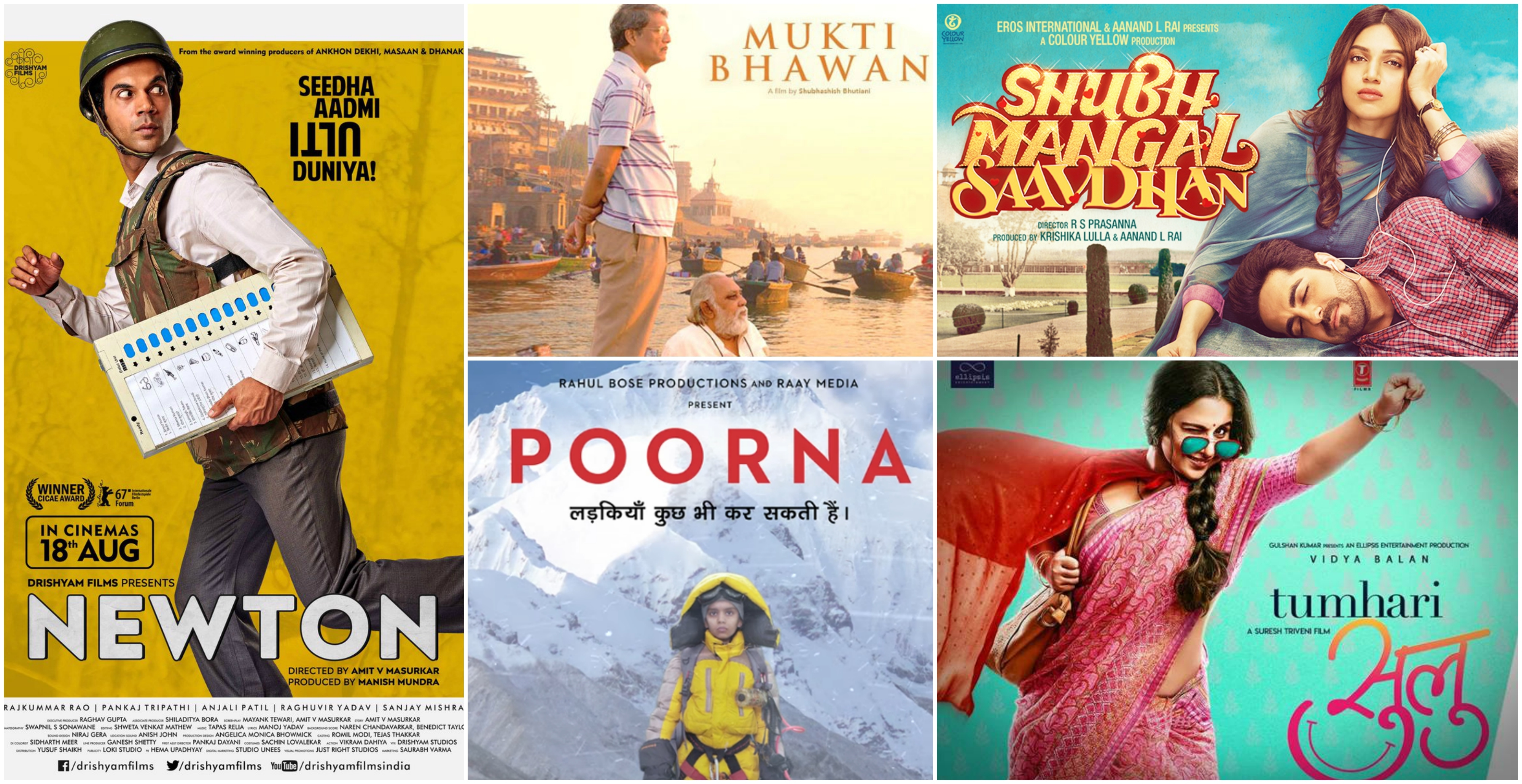 Top 10 Bollywood Films of 2017 | YEARLY ROUNDUP