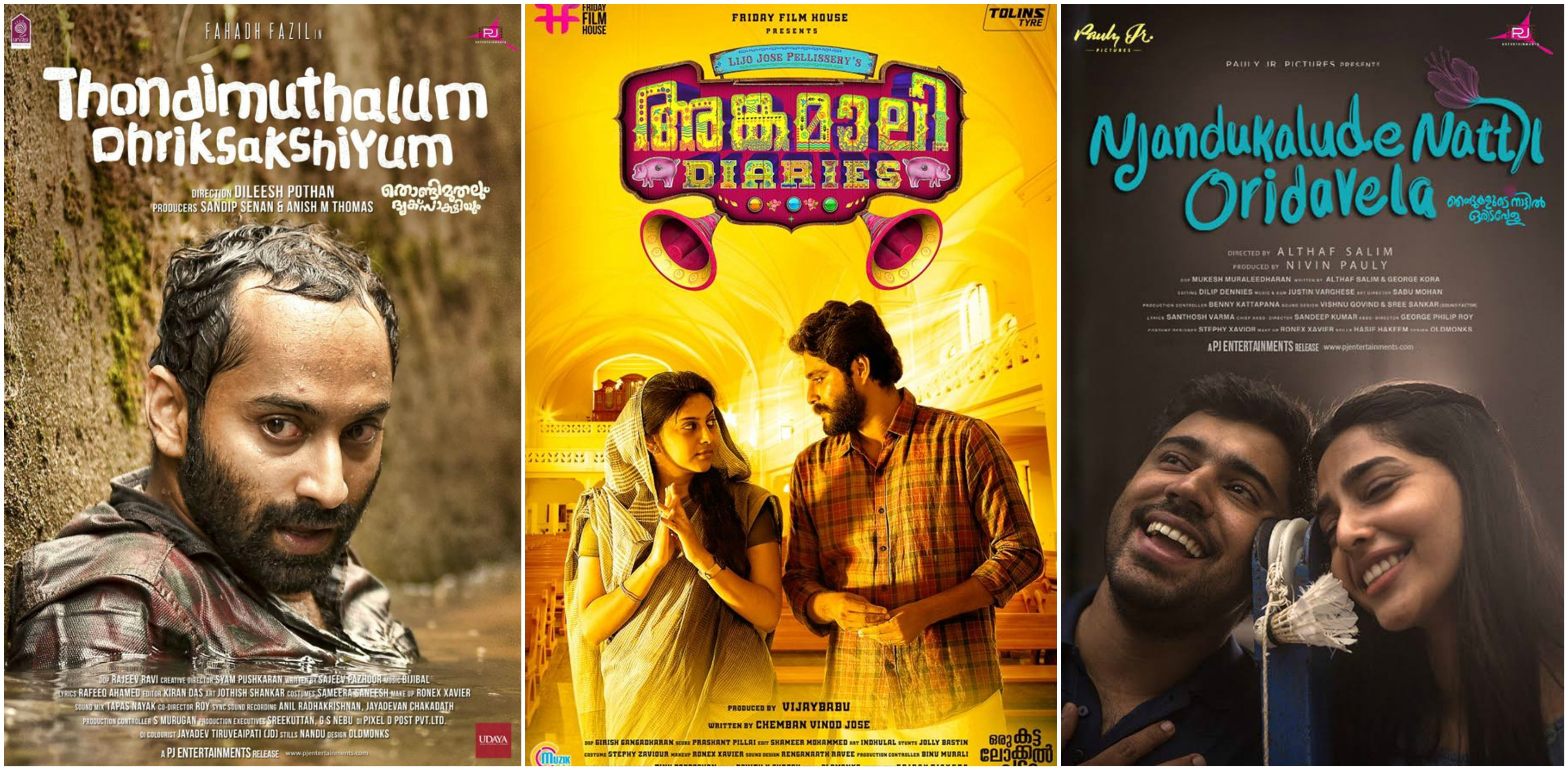 Malayalam Top 10 Films 2017