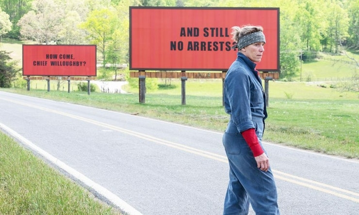 """Three Billboards Outside Ebbing, Missouri""… One angry mother is all it takes!"
