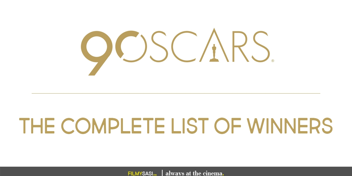 90 oscars winners list