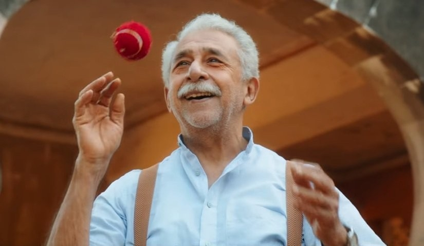 Naseeruddin Shah in Hope Aur Hum Review