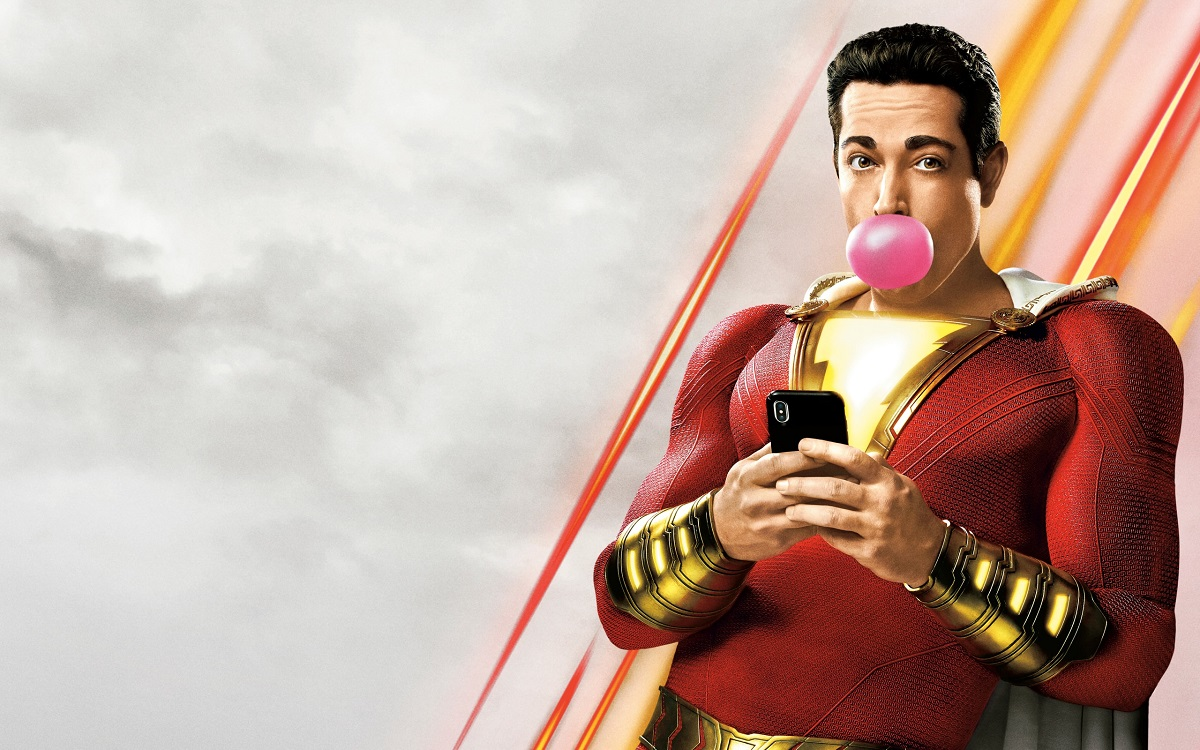 """Shazam!""… A goofy comedy that's also a sweet family story with winsome kids!"